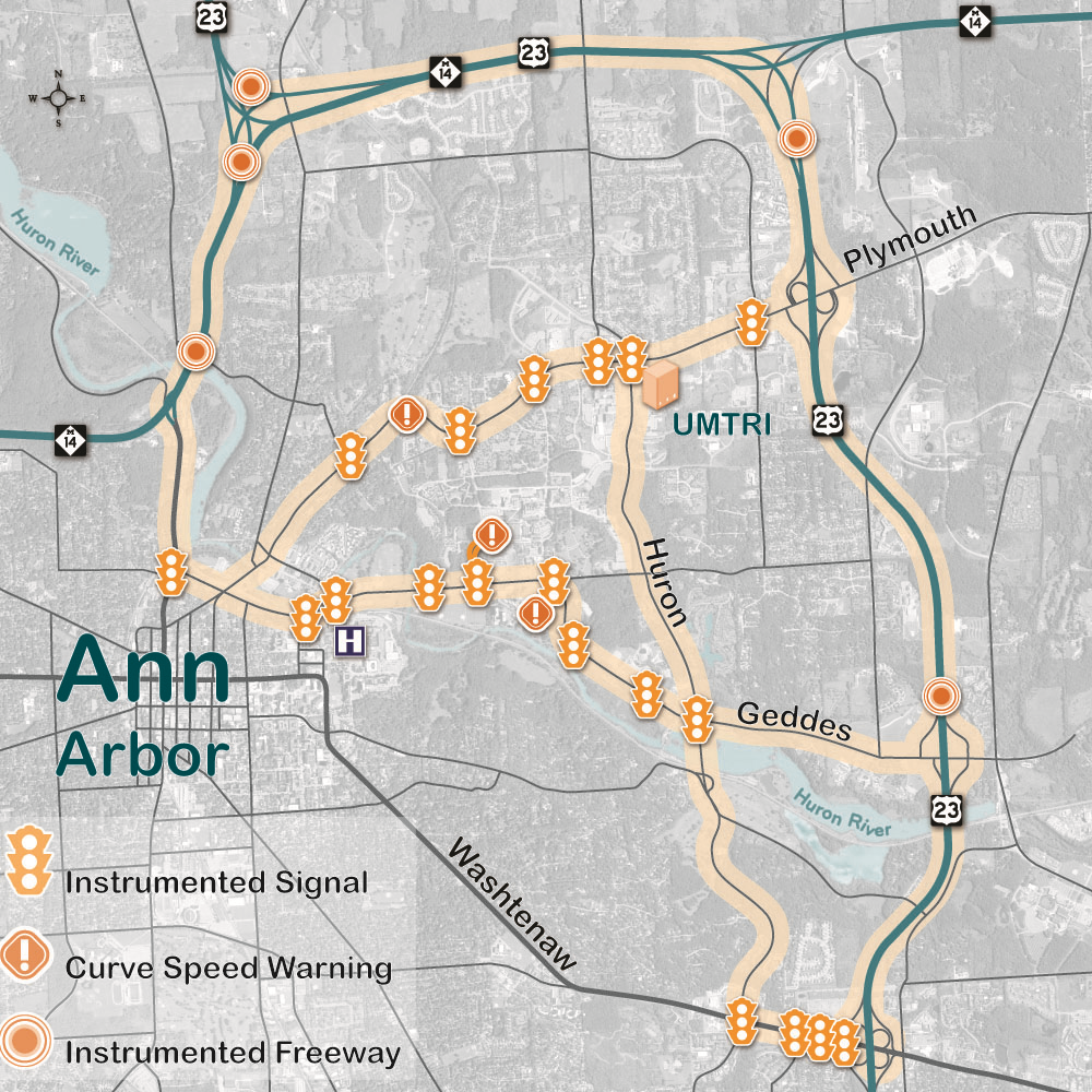 Ann Arbor Map